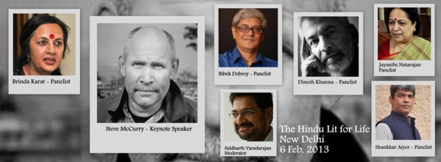 Steve Mccurry speak on photographing the Indian sub-continent in Delhi