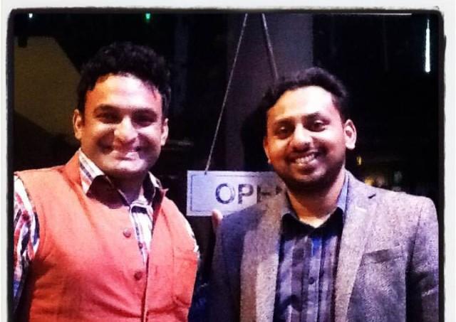 with Indian photographer Amit Madheshiya