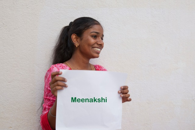 Meenakshi, 17yrs, Wants to be a professional photographer, joined classes to understand basics of photography and figure how she could pursue this full time. Will choose Arts for her degree.