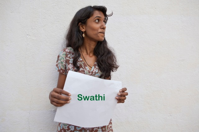 Swathi, 19yrs, Wants to learn accounts and be a bank manager but also wants to continue photography as a serious hobby