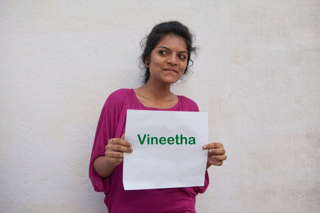 Vineetha, 18yrs, joining a leading MNC bank next week, photography will remain a hobby !!